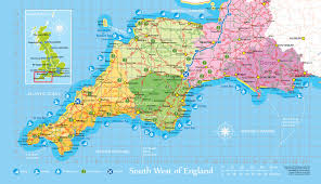 Map Of West Coast Map Of South West Coast Of England You Can See A Map Of Many