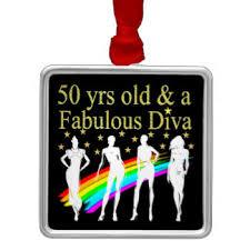 50 fabulous 50th birthday ornaments keepsake ornaments zazzle