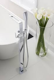 kh zero 1 bath shower mixer with shower kit in floor standing