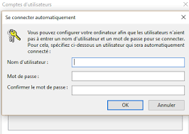 connexion bureau distance sans mot de passe comment se connecter automatiquement à windows 10 sans mot de passe