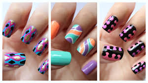 easy nail art for beginners 18 jennyclairefox youtube