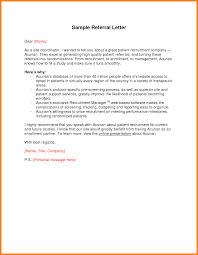 cover letter from a referral