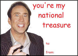 geeky valentines cards nicolas cage s day card geeky s day cards
