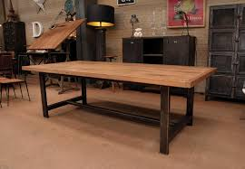 Industrial Table L Fanciful Industrial Dining Room Table Ideas Vintage Industrial