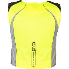 motorbike vest akito ride safe hi vis motorcycle vest hi viz vented safety