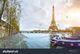 Beautiful Eiffel Tower by Beautiful Panoramic View Eiffel Tower Jena Stock Photo 589514765