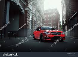car mercedes red moscow russia july 10 2016 red stock photo 462917083 shutterstock