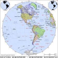 Blank Hemisphere Map by Western Hemisphere Map Western Hemisphere Map Western Hemisphere