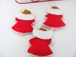 vintage ornaments bucilla felt