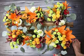 thanksgiving flower arrangements something new for dinner