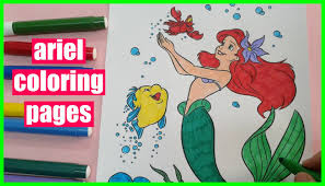 coloring pages for girls how to color ariel coloring pages the