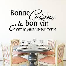 cuisine et vin sticker bonne cuisine et bon vin c est stickers citations