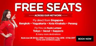 airasia singapore promo airasia singapore free seats promo till 29 november 2015 airpaz blog