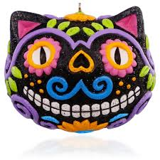 Halloween Ornament by 2015 Dia De Los Muertos Halloween Hallmark Keepsake Ornament