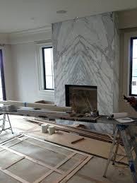 diy corner fireplace surround electric contemporary slab stone
