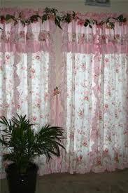 shabby chic curtain décoration fenêtre u0026 autre pinterest