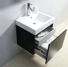 stainless steel bathroom vanity contemporary with glass top and