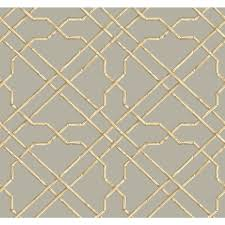 york wallcoverings tropics bamboo trellis wallpaper at7076 the