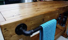 Homemade Bar Top Diy Console Tablediy Show Off U2013 Diy Decorating And Home