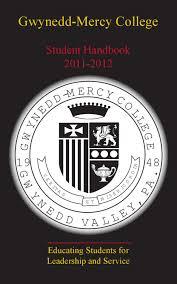 handbook by gwynedd mercy college issuu