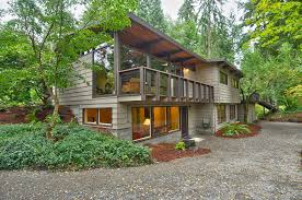 lake homes lake forest park northwest contemporary home sold