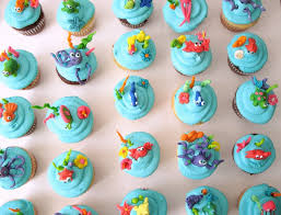 under the sea u2026 little mermaid cupcakes