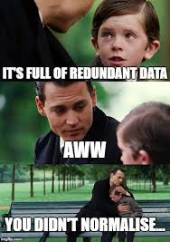Meme Data Base - decomposing relations imgflip