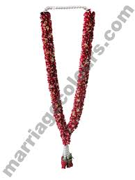 garlands for indian weddings white and maroon confluence garland garlands for indian