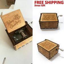 Engraved Music Box Christmas Music Box Ebay