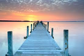 beach wallpaper wall murals wallsauce sunset jetty wall mural wallpaper
