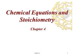 chapter 41 chemical equations and stoichiometry chapter ppt download