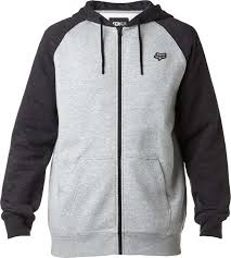 fox motocross jacket fox racing legacy zip up hoody mens fleece sweatshirt mx