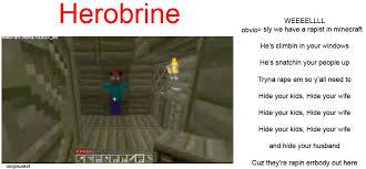 Minecraft Herobrine Memes - minecraft herobrine