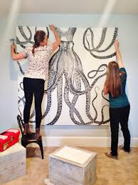diy octopus art house of jade interiors blog