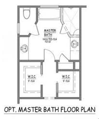 Master Bathroom Layout Ideas I Like This Master Bath Layout No Wasted Space Efficient