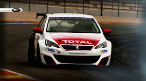 the peugeot family this is the peugeot 308 racing cup which will debut in tcr at spa