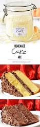 homemade cake mix recipe