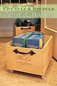 wine crates up cycle u0026 recycle with wheels frugelegance