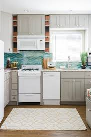 brown kitchen cabinets lowes lowes brand cabinets in cloud gray and colorful
