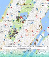 Map Central Park Pokehuntr On Twitter