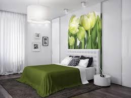 Green White Nature Bedroom Interior Design Ideas - Nature interior design ideas