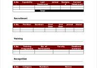 hr management report template hr management report template professional and high quality