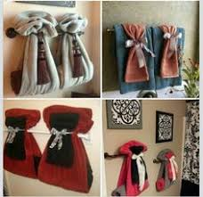 Towel Designs For The Bathroom | bathroom towel decorating ideas inspired2ttransform decorating