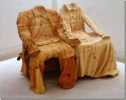 creative and attractive sculptures of wood