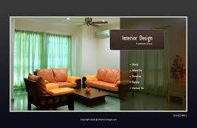 professional flash template for interior design