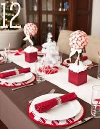 simple christmas table settings easy christmas decorating with ribbon christmas party table green