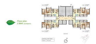 Compact Floor Plans 2 Bhk Flat In Kanjurmarg West Kanjurmarg Projects Runwal