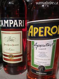 campari bottle wannafoodie ca aperol spritz