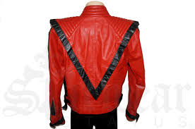 red leather motorcycle jacket michael jackson thriller red leather jacket by u201cmetal u201d m original