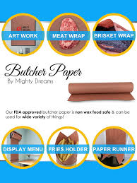 amazon com pink peach butcher paper roll 18